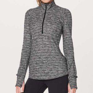 Lululemon Extra Mile Half Zip Pullover